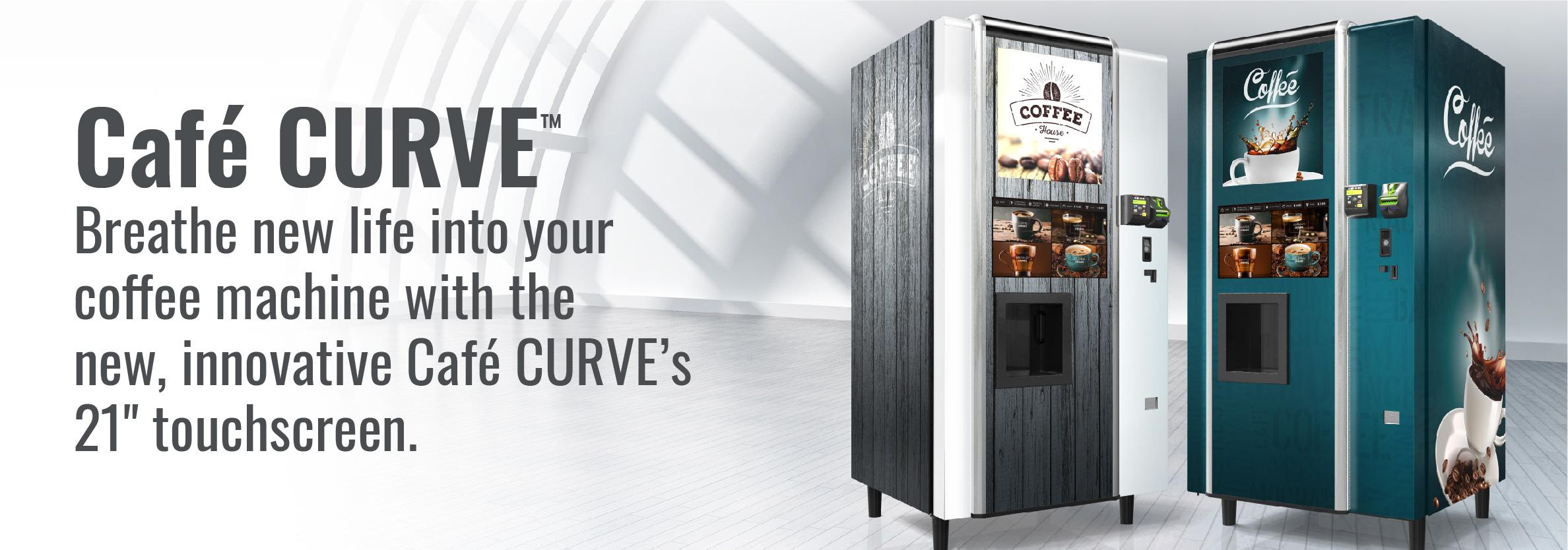 Cafe CURVE for your MicroMarket Solution