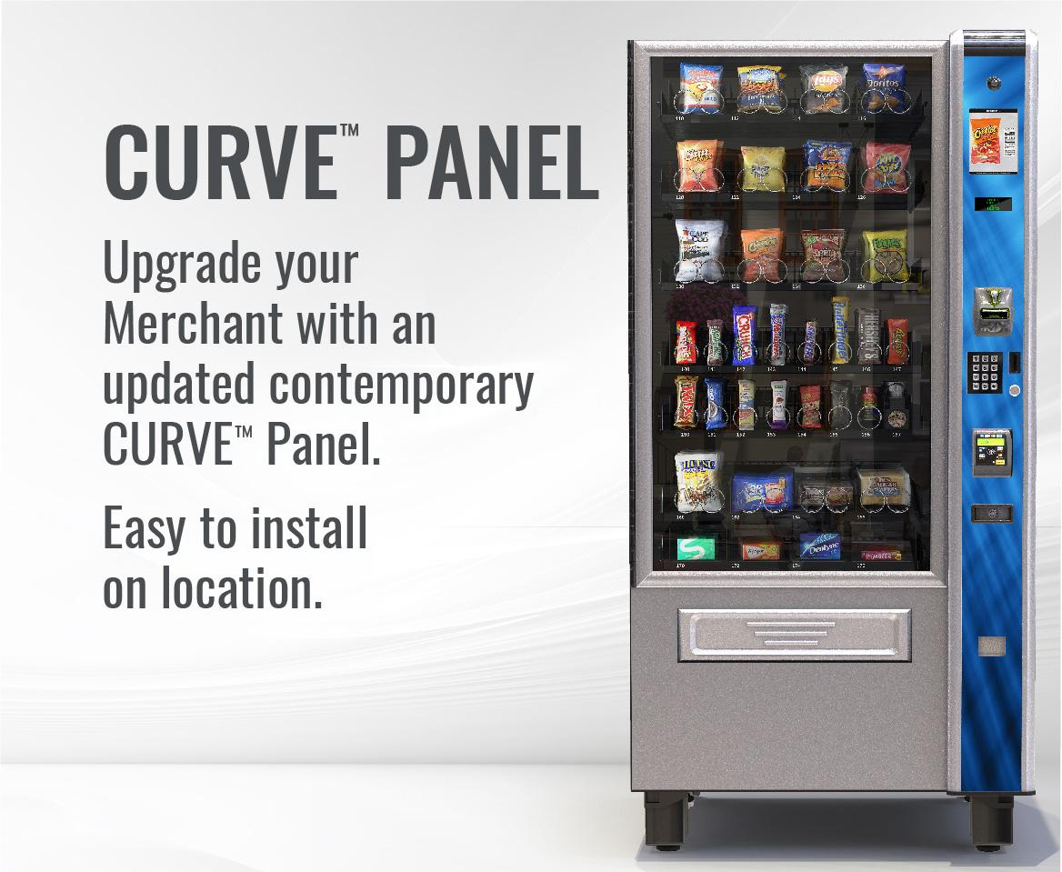 Upgrade your Merchant with an updated CURVE Panel.