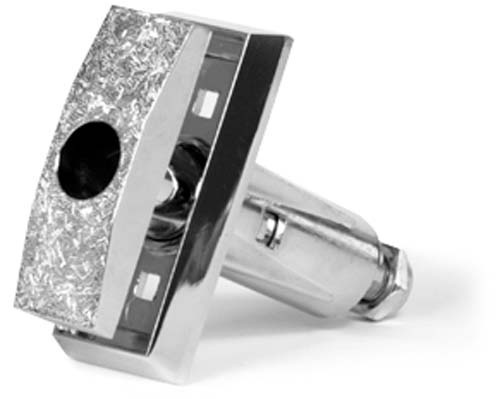 T-HANDLE ASSEMBLY, FOR AP & RMI, 1/4 TURN, CHROME 6000/7000/110/111/112/113