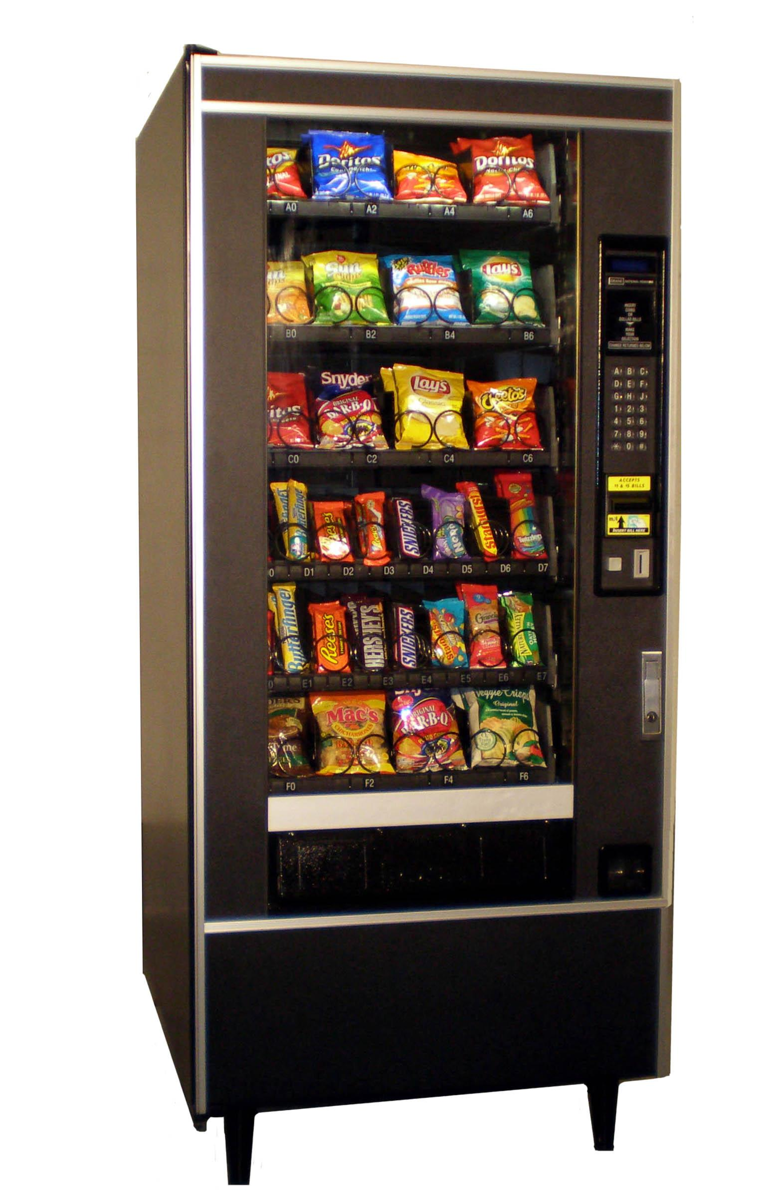National Snack Vending Machine, 158